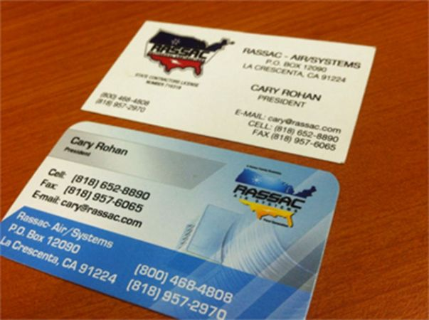 Custom made business cards arts arts business card printing in san fernando valley los angeles reheart Image collections